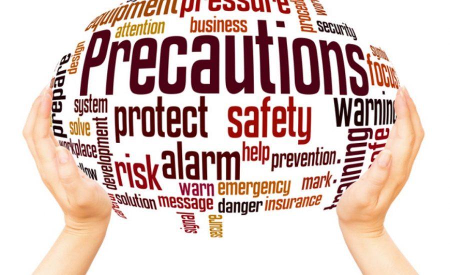 crypto precautions