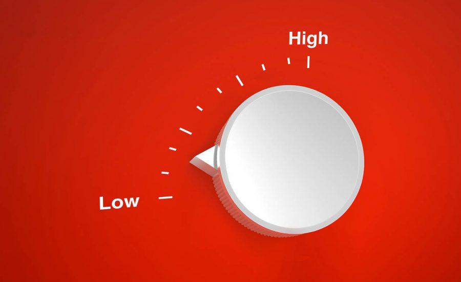 crypto volatility low