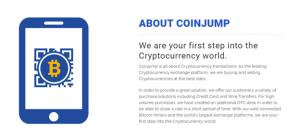 CoinJump platform benefits