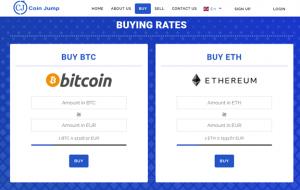 CoinJump BTC and ETH