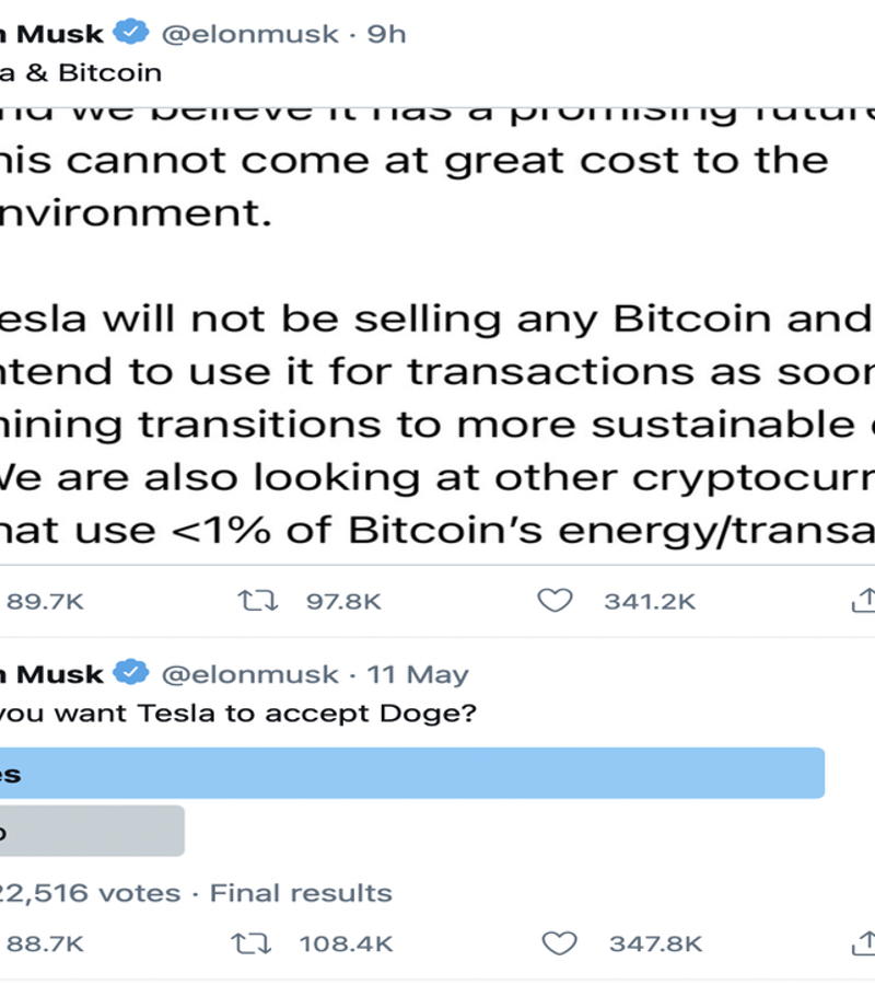 Elon Musk Continues to Drive Bitcoin Price with Latest Tweet