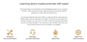 learn crypto trading with Omplix