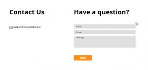 EU-Crypto Bank contact service